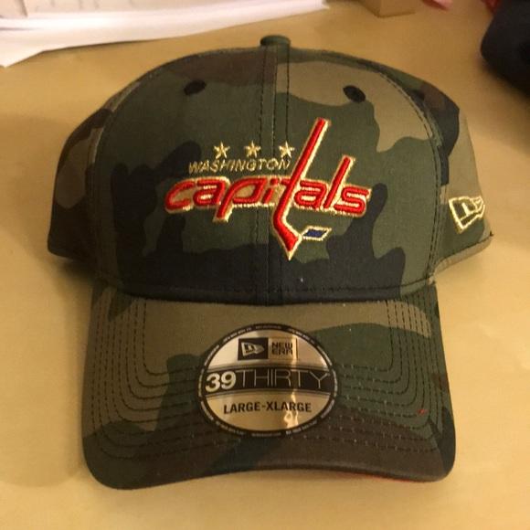 e15e1e868fab8 Brand new Washington capitals camo hat. M 5a7f6beb00450f42fa67bc60